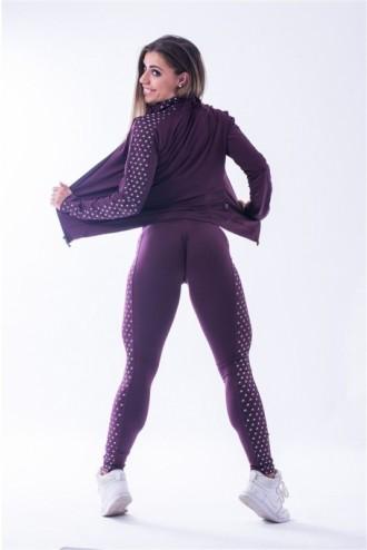 """N""s  leggings 653 - Burgundi"