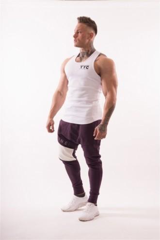 Ujjatlan póló AW Gym  726 - Fehér