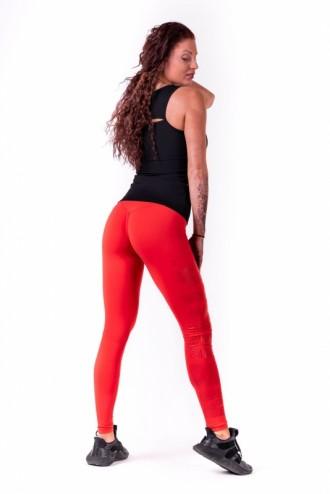Leggings One tone pattern   677 - Piros
