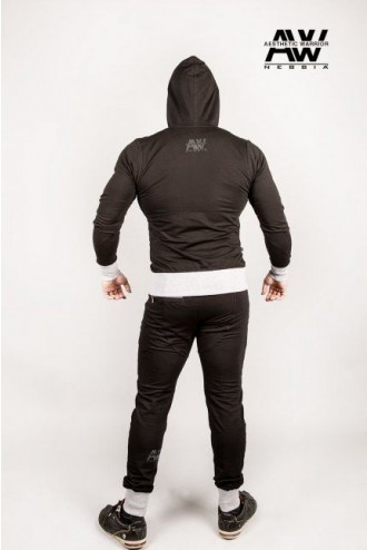 AW elasztén cipzáros dzseki 107