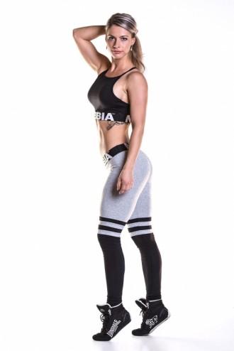 Over the knee - Grey leggings 286