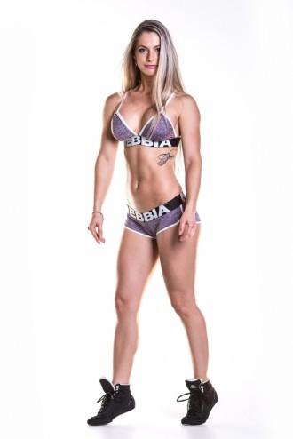 Sportmelltartó Fitness  267 - Lila