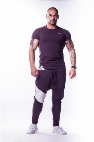 Póló AW Muscle Back  728 - Burgundi