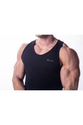 Ujjatlan póló AW  725 - Fekete
