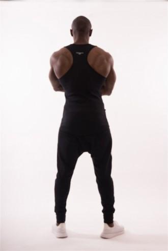 Ujjatlan póló AW Gym  726 - Fekete