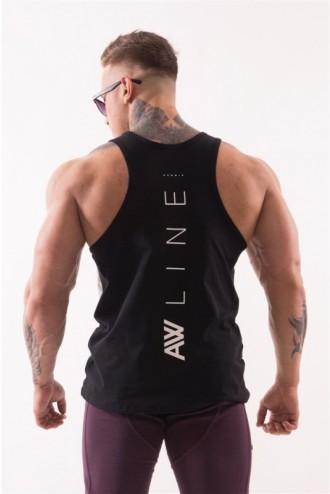 "Ujjatlan póló AW 90""S Muscle  723 - Fekete"