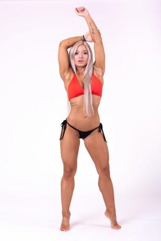 Triangle bikini top 631 felső rész - Piros