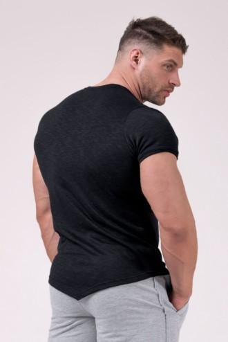 Póló Muscle Back 172 - Fekete