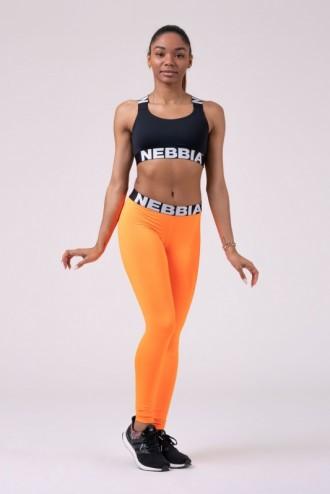 Leggings Squad Hero Scrunch Butt 528 - neon narancssárga