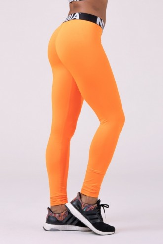 Leggings Squad Hero Scrunch Butt 528 - neon narancssárga