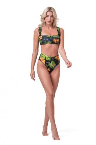 Bikini alsó High Waist Sporty 555 - Zöld