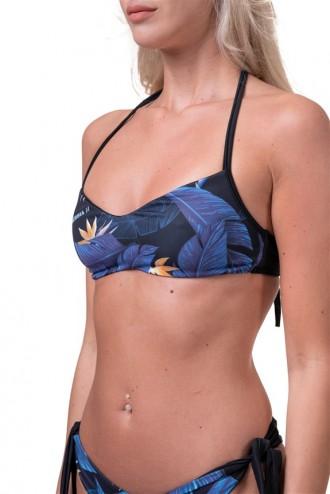 Bikini felső Earth Powered 556 - Kék