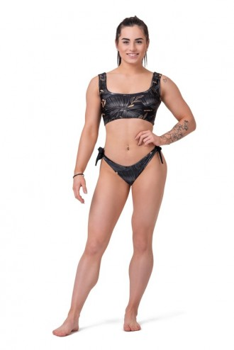 Brasil Bikini alsó Earth Powered 557 - Fekete