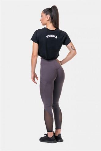 Crop top Fit & Sporty 583 - Black