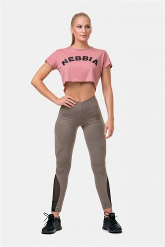 Crop top Fit & Sporty 583 - Old Rose