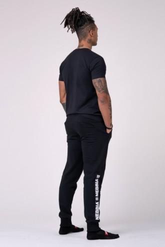 Férfi póló 593 - Fekete