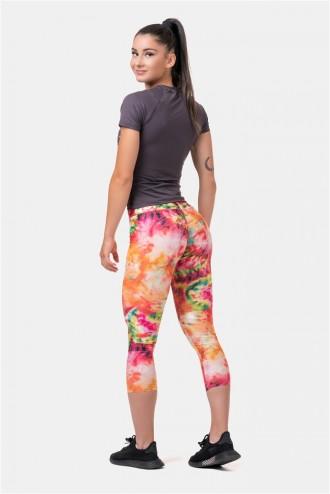 Háromnegyedes leggings Be Your Own Hero 574 - Rainbow
