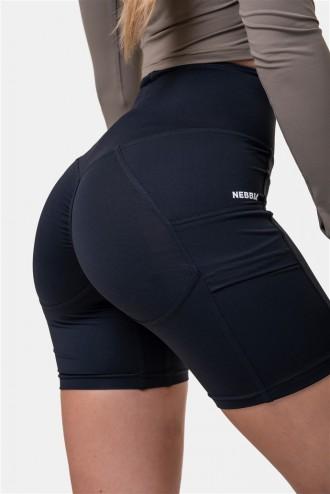 Női bicikli rövidnadrág Fit & Smart 575 - Black