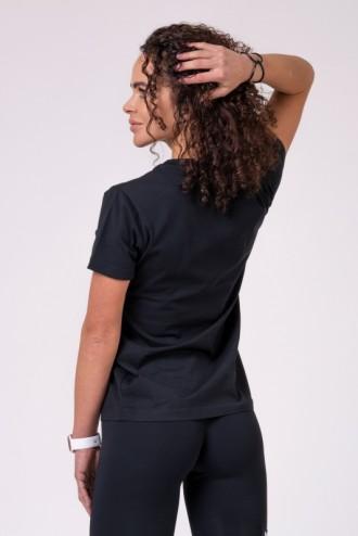 Női póló 592 - Fekete