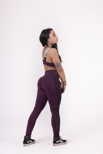 Leggings Flash-Mesh 663 - Burgundi