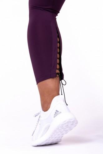Leggings Lace up 7/8 661 - Burgundi