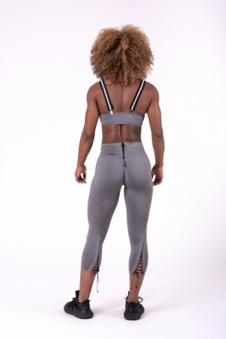 Leggings Lace up 7/8 661 - Szürke