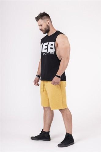 Rövidnadrág Be rebel 150 - Mustár színű