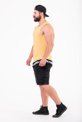 Ujjatlan trikó Be rebel 141 - Mustár színű