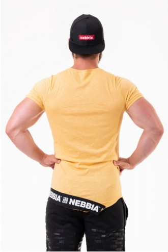 Póló Be rebel 140 - Mustár színű