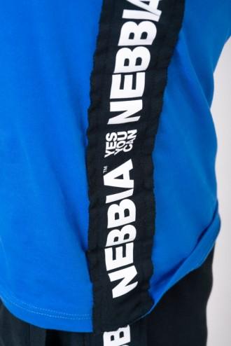 Ujjatlan póló Limitless 174 - Kék