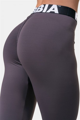 Scrunch Butt leggings Squat HERO  571 - Marron